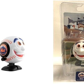 NEW YORK NY METS WIND UP BASEBALL TOY BY BLEACHER CREATURES FREE SHIPPING