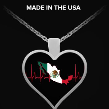 Mexico Heartbeat Necklace mexico-hb