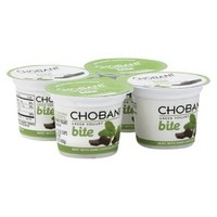 Chobani Bite™ Low-Fat Greek Yogurt - Mint with Dark Chocolate Chips (4 Pack)