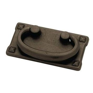 Liberty, Mission Style 3 in. Pewter Fixed Bail Cabinet Hardware Pull, 69856.0 at The Home Depot - Mobile