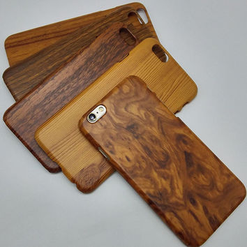 YueTuo original luxury hard case for iphone6 iphone 6s 6 s 4.7 by pc brand phone wood grain protective fashion back wooden cover