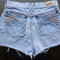 Vintage Pentimento High Waisted Shorts