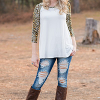 Animal Queen Printed Baseball Tee Top