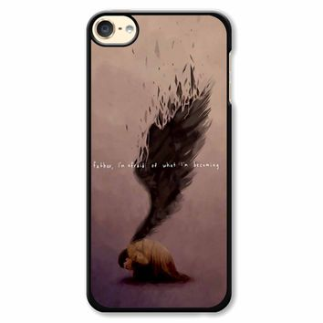 Supernatural Castiel Quote iPod Touch 6 Case