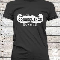 AQUARIUS / Zodiac / Astrology  / Dark Side / Ladies Graphic Tee Shirt