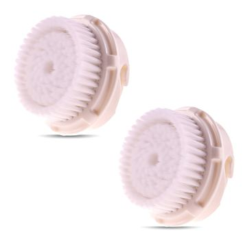 Replacement Compatible Clarisonic Luxe Brush Heads for Full Facial Like Cleanse, 2 Refills