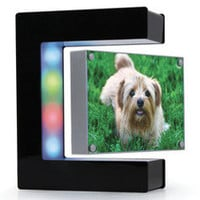 The Hovering Picture Frame - Hammacher Schlemmer