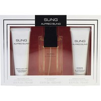 SUNG by Alfred Sung EDT SPRAY 3.4 OZ & BODY LOTION 2.5 OZ & SHOWER GEL 2.5 OZ