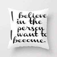 Lana Del Rey Lyrics Poster Throw Pillow by EverMore