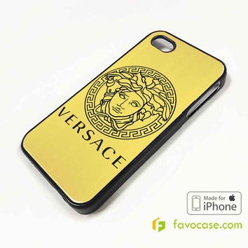 VERSACE Logo iPhone 4/4S 5/5S 5C 6 6 Plus Case Cover