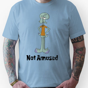 Squidward is Not Amused Unisex T-Shirt