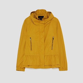 WATER REPELLENT FABRIC JACKET