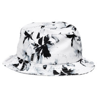 HUF - FLORAL BUCKET // WHITE