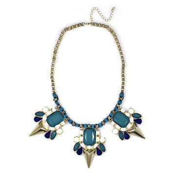 Blue Sophie Necklace