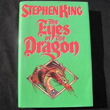 1984 Eyes of the Dragon Stephen King First Edition Viking Press Hardcover with DJ