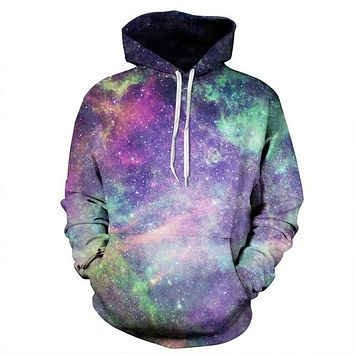 Space Galaxy 3d Sweatshirts Unisex Hoodies