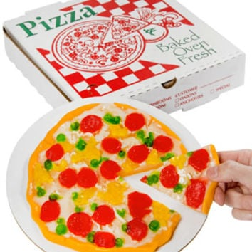 Gummy Pizza in a Box