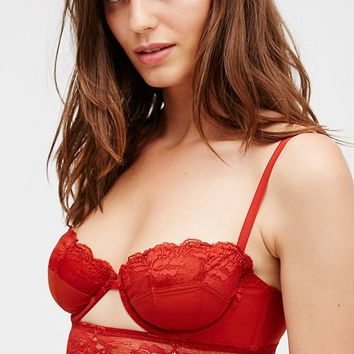 Free People Walk The Line Underwire Bra