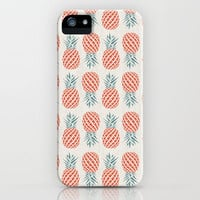 Pineapple  iPhone & iPod Case by Basilique