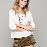 One Teaspoon Womens Rebel Military Short
