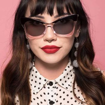 Black & Pink Ethel Sunglasses by Betty & Veronica - PRE-ORDER, SHIPS LATE JUNE