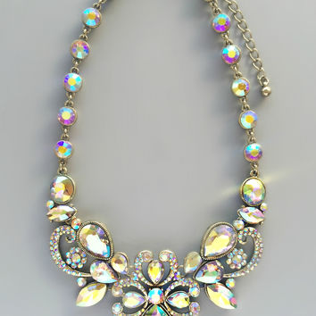 Lulu Crystal Statement Necklace