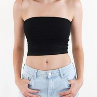 Choker Crop Top - Black