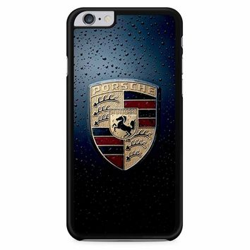 Wet Porsche Logo iPhone 6 Plus / 6S Plus Case