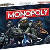 MONOPOLY: Halo Collector's Edition Board Game