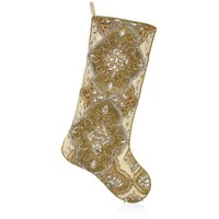 Kim Seybert Tangier Embellished Stocking | Harrods