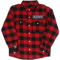 Beartooth Men's  Logo Flannel Multi