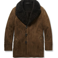 Berluti - Shearling and Leather Coat | MR PORTER