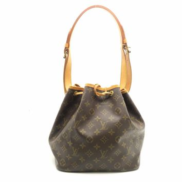 Louis Vuitton Monogram Noe Shoulder Bag Brown M42226 9831