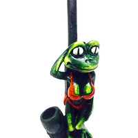 Resin Pipe - Lady Frog