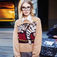 GUCCI : Women Embroidery Sweater