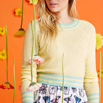 Midtown Mixer Sweater in Buttercup | Mod Retro Vintage Sweaters | ModCloth.com