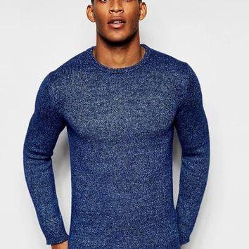 United Colours of Benetton Crew Neck Knitted Jumper