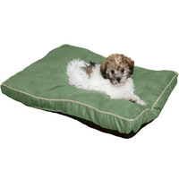 Durable Suede Pet Bed, Comfortable & Soft For Small Dogs & Cats