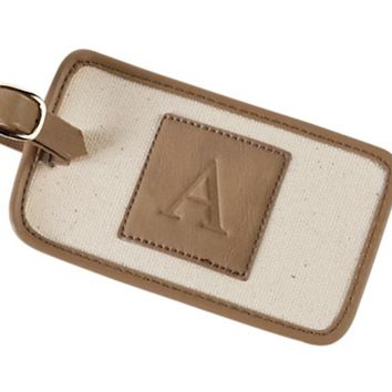 Initial Luggage Tag