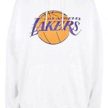 LA Lakers Oversize Hoodie by UNK X Topshop | Topshop