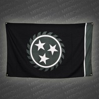 Sawblade Black 3 X 5 Flag : WC00 : Whitechapel