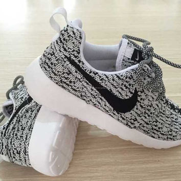 2cb15d78768 Custom Nike Roshe run Yeezy from Soleattitudes on Etsy