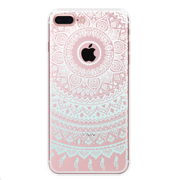 New Lace Floral Case for iPhone 7 7Plus & iPhone se 5s 6 6 Plus Best Protection Cover +Gift Box-91