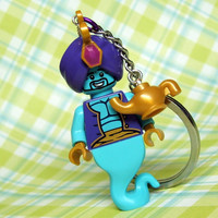Genie Keychain - made from Series 6 LEGO (r) Minifigure