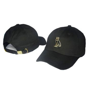 Drake 6 god pray ovo cap black Strapback Hotline Bling hats 6 panel snapback casquette