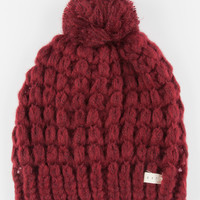 Neff Jillian Beanie Burgundy One Size For Women 26524432001