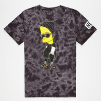 Neff The Simpsons Steezy Mens T-Shirt Black/Multi  In Sizes