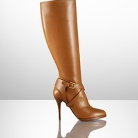 Concord Calf High-Heel Boot - Collection Shoes   Shoes - RalphLauren.com