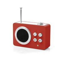 Lexon Studio: Mini Dolmen Radio Red, at 17% off!