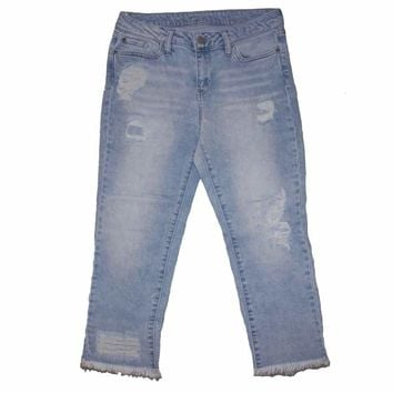 Stoned Washed High Waisted Jeans